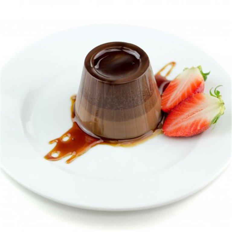 Flan de Chocolate sin azúcar