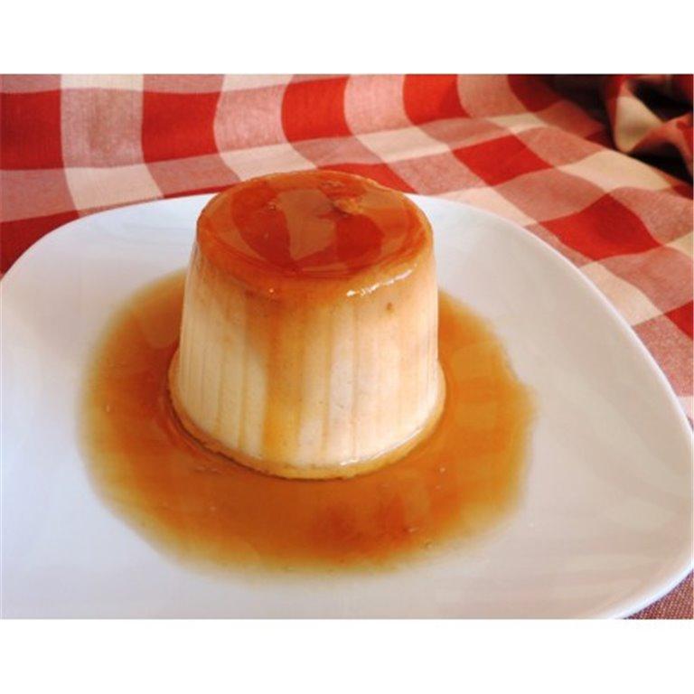 Flan de queso sin azúcar, 1 ud