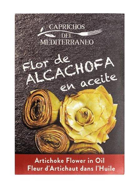 Flor de alcachofa en aceite