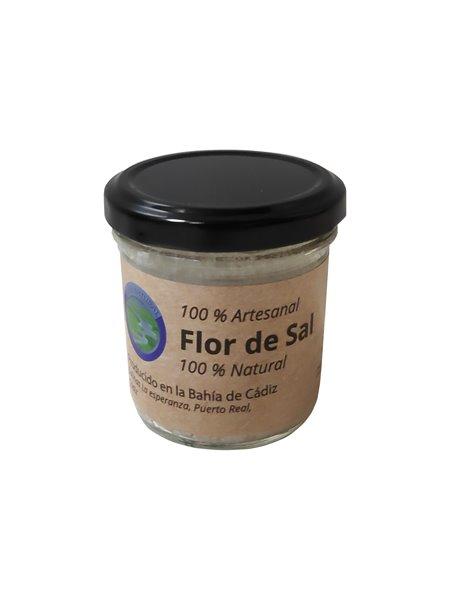 Flor de Sal, Mar Natural. Tarro de cristal de 60 gr.