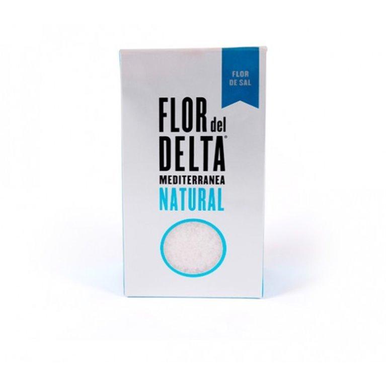 Flor de Sal Natural Flor del Delta 125 gr, 1 ud
