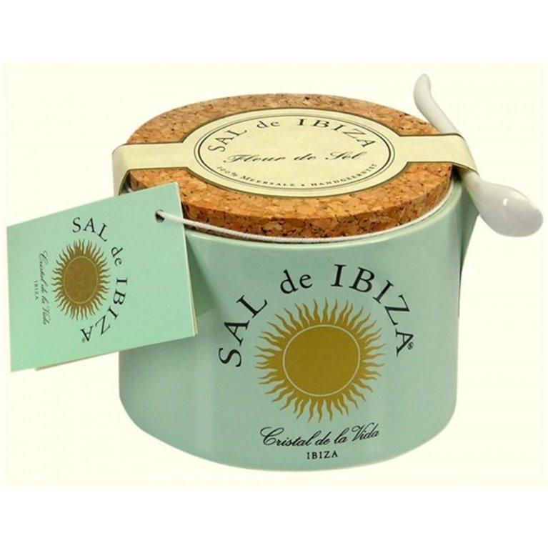 Flor de Sal Natural Sal de Ibiza 150 gr, 1 ud