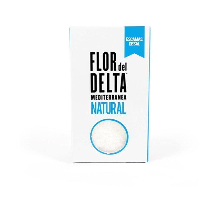 Flor del Delta Escama de Sal 125g
