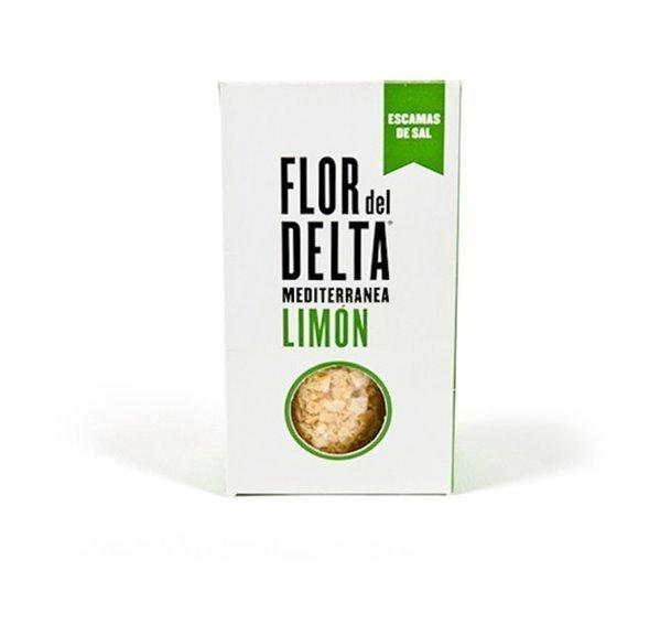 Flor del Delta Escama de Sal con Limón