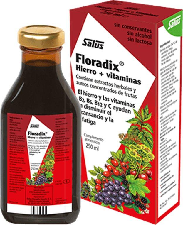 Floradix ( Hierro+Vitaminas ), 500 gr
