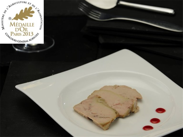 Whole Duck Foie Gras from Gers - 180 grs