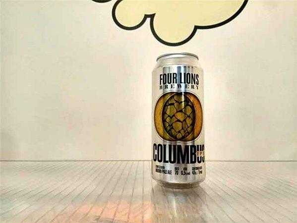 Four Lions Columbus IPA – Lata