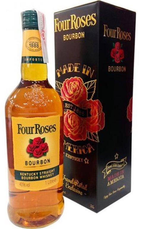 Four Roses Estuche Metal 1 Litro
