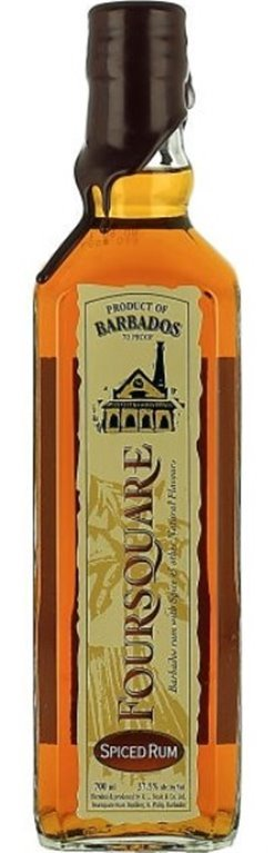 Foursquare Spiced Rum, 1 ud