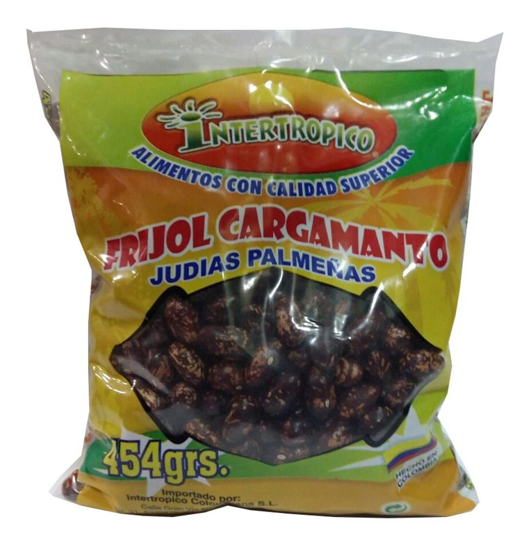 FRIJOL CARGAMANTO INTERTROPICO 454 GR