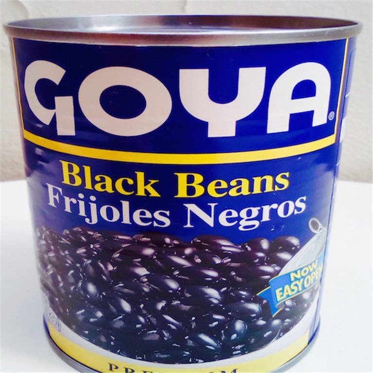 Frijol negro en conserva, 1 ud