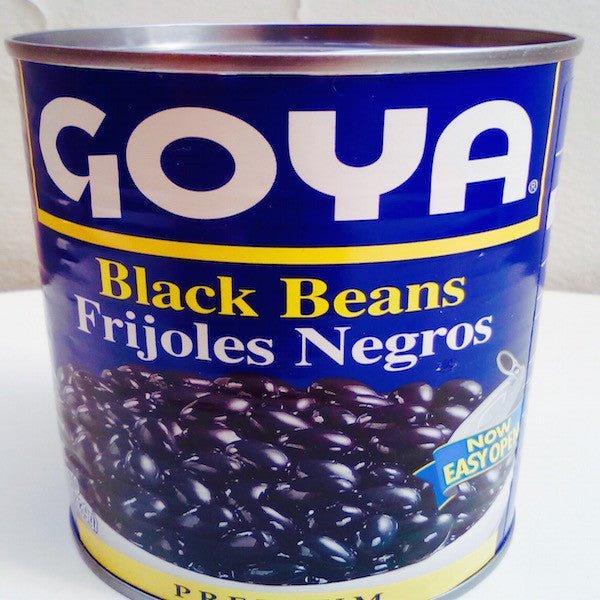 Frijol negro en conserva