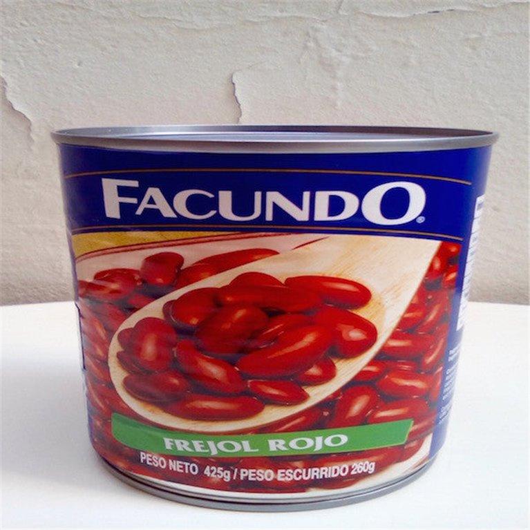 Frijol rojo en conserva, 1 ud