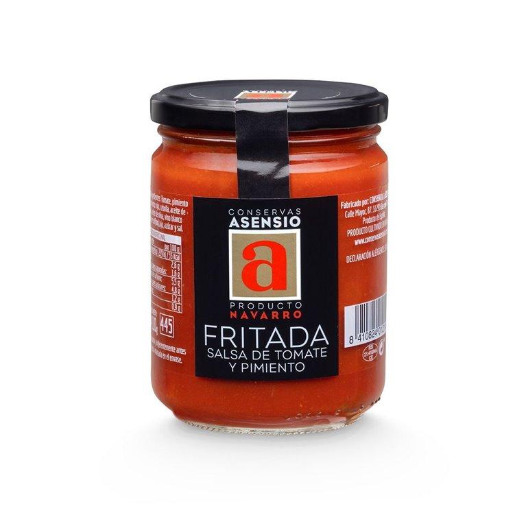 Fritada salsa de tomate y pimiento Frasco 410 g