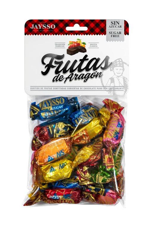 Fruits of Aragon without sugar 250g bag Jaysso