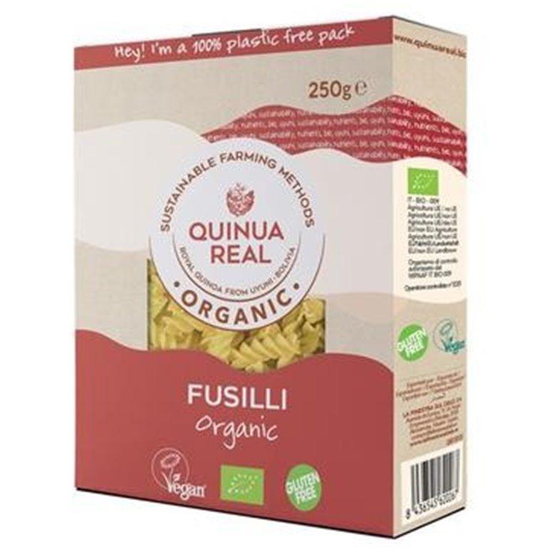 Fusilli de Arroz y Quinoa Real Sin Gluten Bio 250g