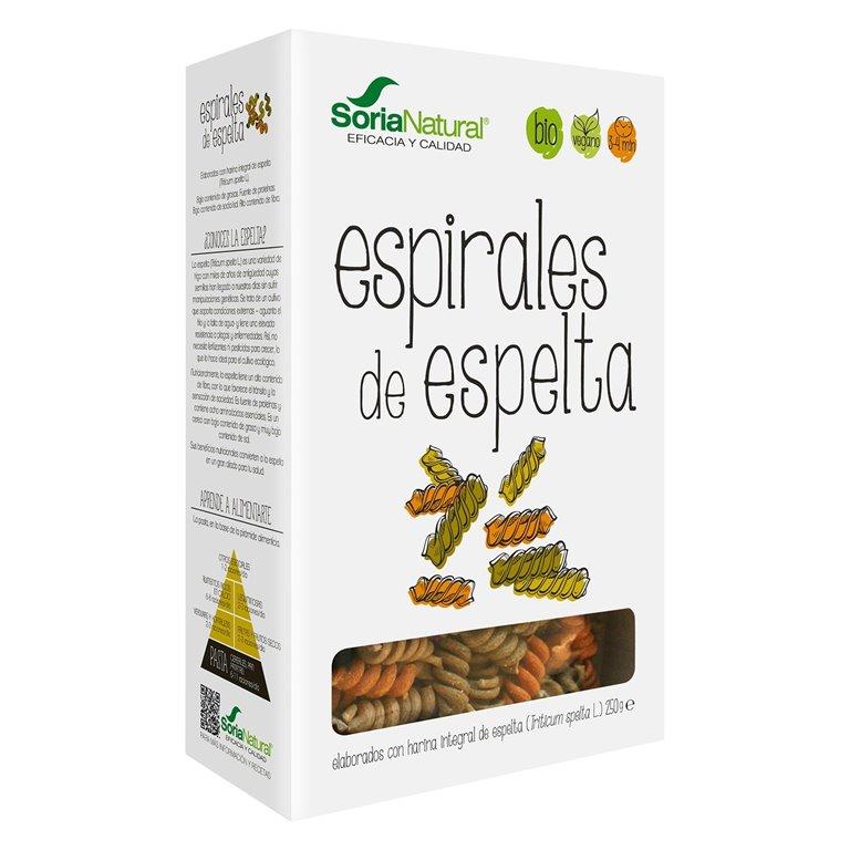 Fusilli de Espelta Integral Tricolor Bio 250g
