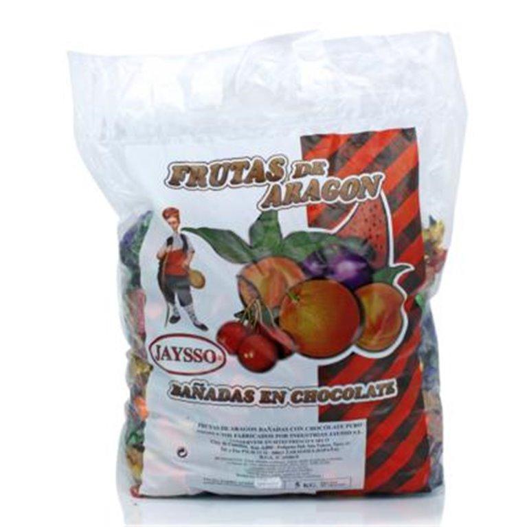 Gajos de naranja con chocolate Jaysso bolsa 5Kg, 1 ud