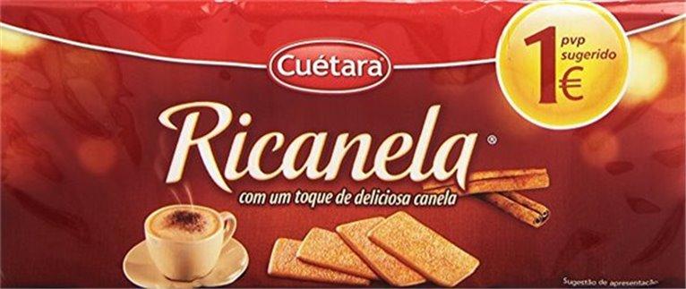 Cuétara - Galletas Ricanela (con deliciosa canela)
