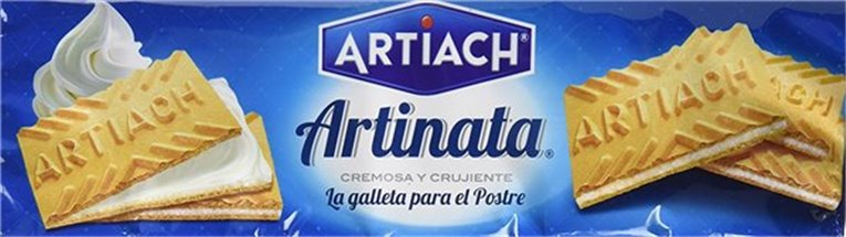 Artiach - Galleta Arinata cremosa