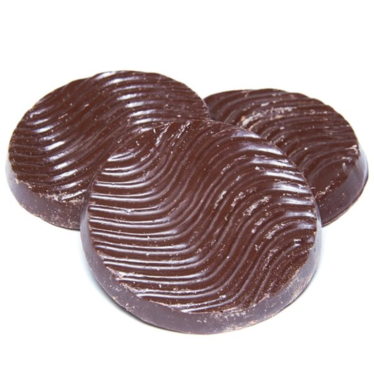 Galleta de chocolate negro