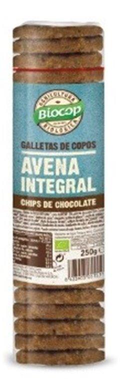 Galleta de Copos de Avena Integral con Chips de Chocolate Bio 250g