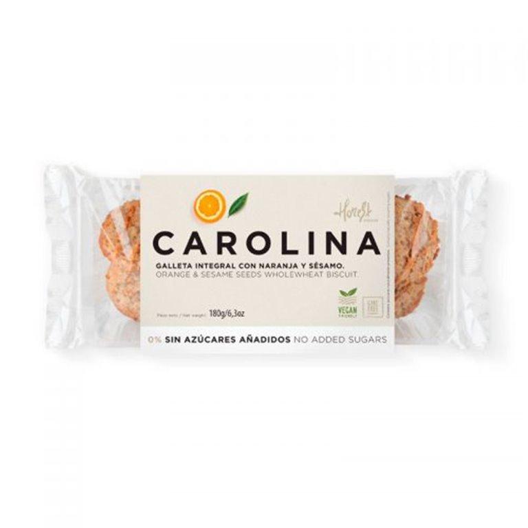 Galleta Integral con Naranja y Sésamo