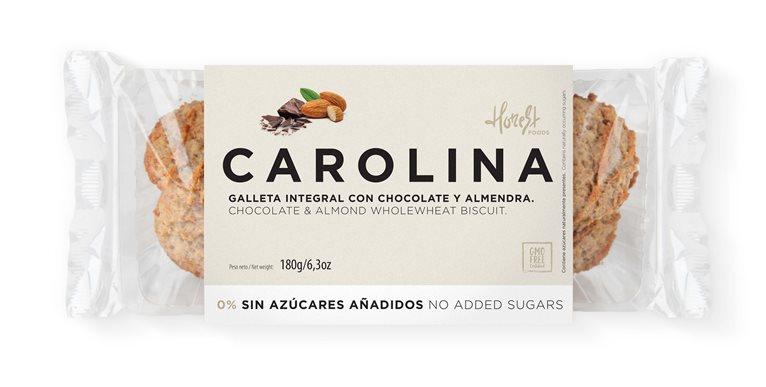 Galleta Sin Azúcares Artesana Integral con Chocolate y Almendra