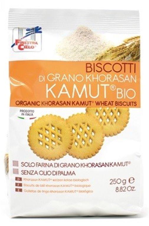 Galletas 100% Trigo khorasan KAMUT® (Sin Azúcar) Bio 250g