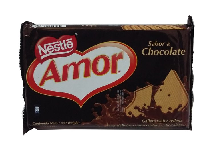 GALLETAS AMOR CHOCOLATE X 100 GR