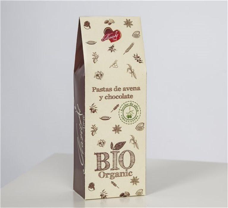 Galletas Bio Avena y Chocolate (250 gr)