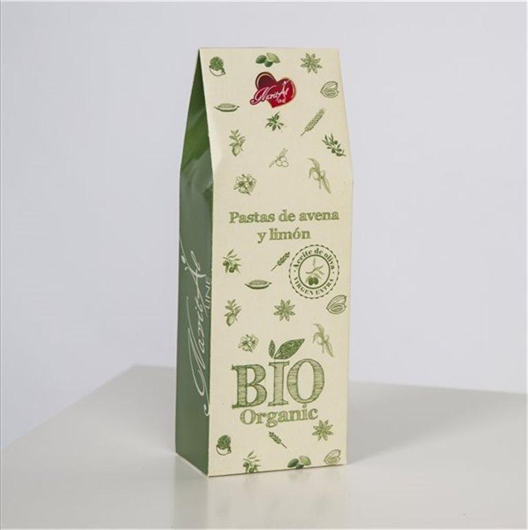 Galletas Bio Avena y Limón (250 gr)