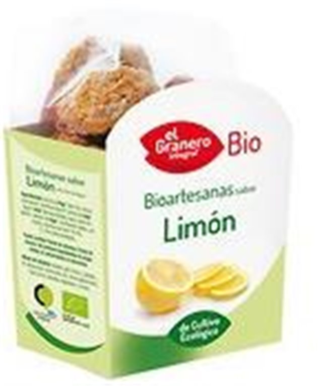 Galletas bioartesanas de limón con chía, 250 gr