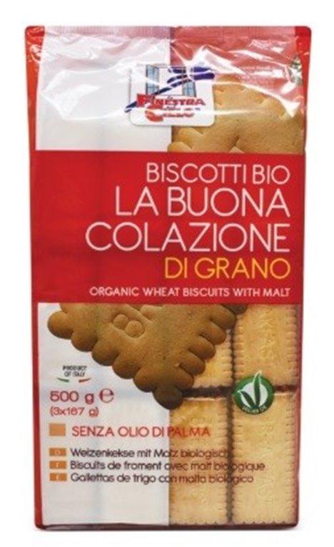 Galletas Buona Colazione (Sin Azúcar) Bio 500g