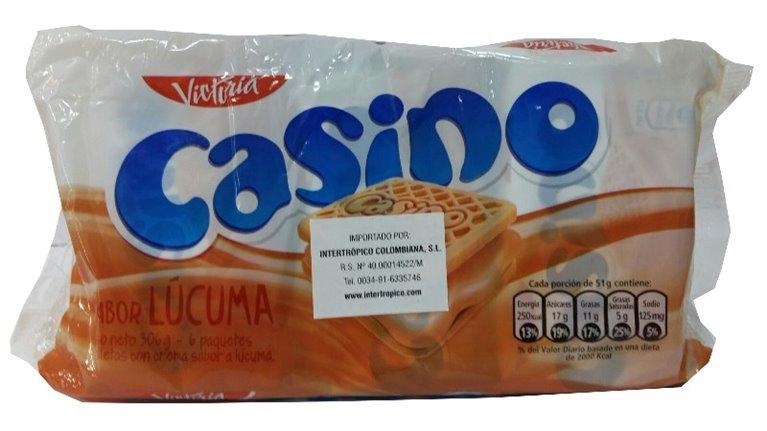 GALLETAS CASINO LUCUMA
