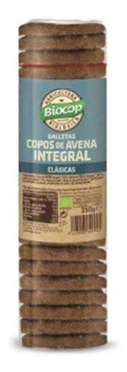 Galletas con Copos de Avena Integral Bio 250g