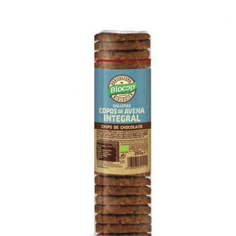 Galletas con copos de avena integral y chips de chocolate, 1 ud
