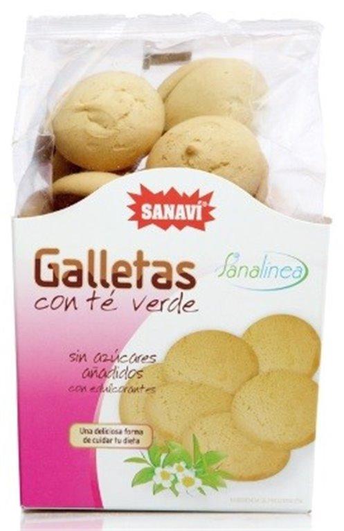 Galletas con Té Verde (Sin Azúcar) 100g