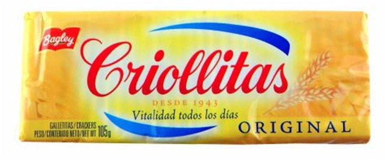 GALLETAS CRIOLLITAS BAGLEY X 100GRS