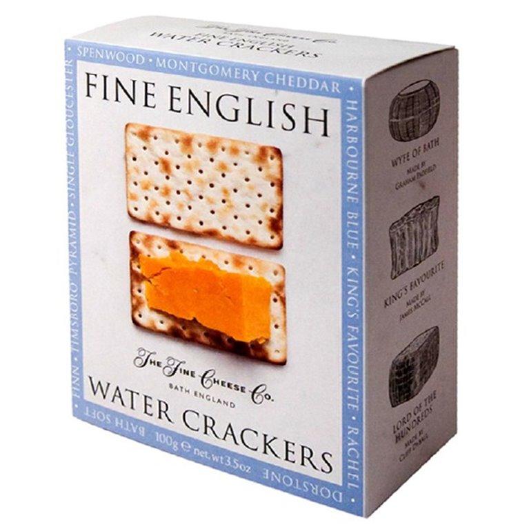 Galletas de agua 100gr. The Fine Cheese Co. 12un., 1 ud