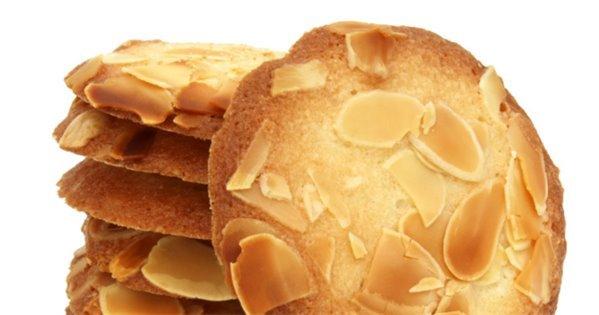 Galletas de almendras sin azúcar añadido
