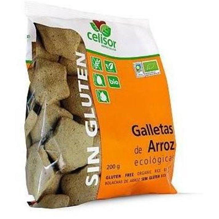 Galletas de Arroz Sin Gluten Bio 200g, 1 ud
