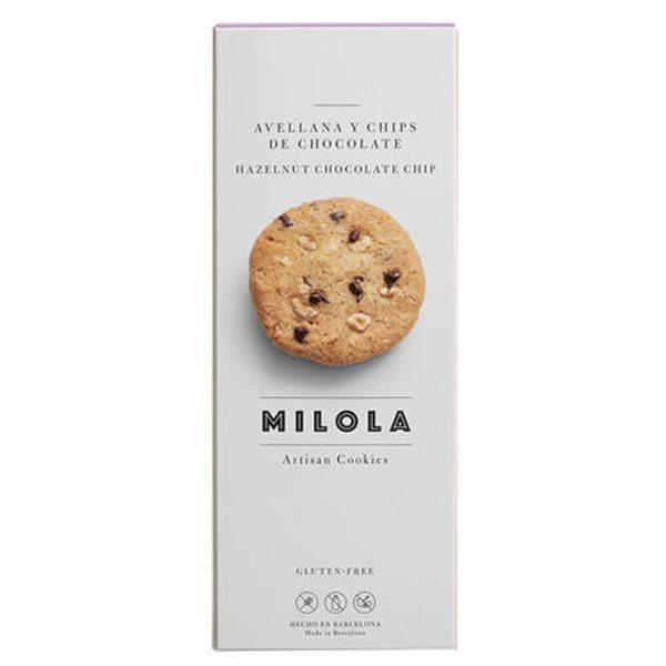 Galletas de avellanas y chips de chocolate MiLola