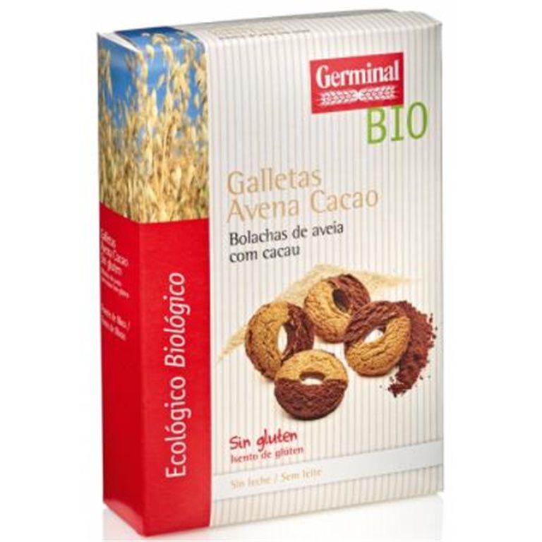 Galletas de Avena con Cacao Sin Gluten Bio 250g
