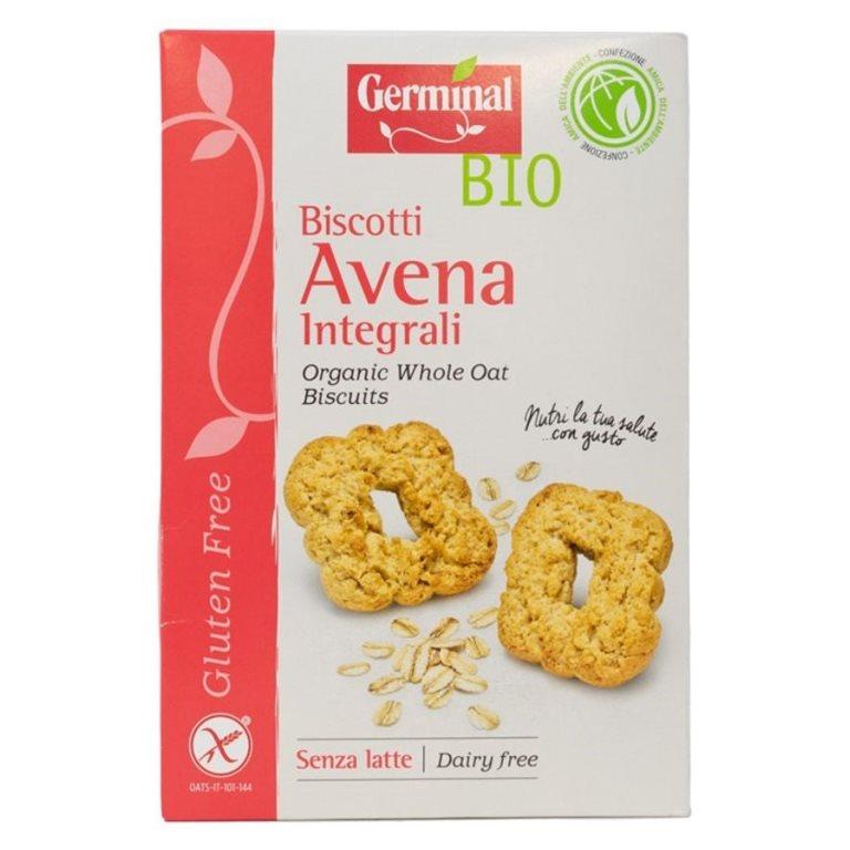 Galletas Integrales con Avena Sin Gluten Bio 250g, 1 ud