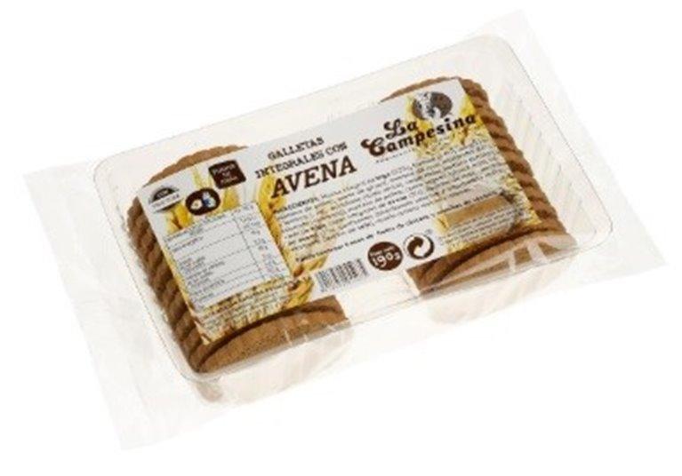 Galletas de Avena (Sin Azúcar) 190g, 1 ud