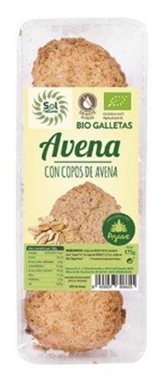 Galletas de Avena (Sin Azúcar) Bio 175g