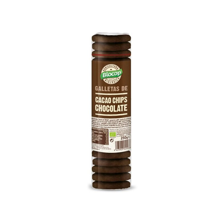 Galletas de Cacao con Chocolate Bio Biocop