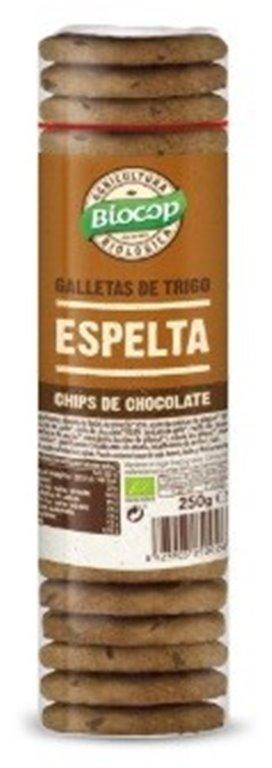 Galletas de Espelta con Chips de Chocolate Bio 250g