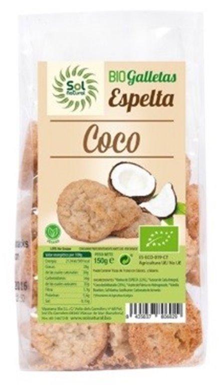 Galletas de Espelta con Coco Bio 150g